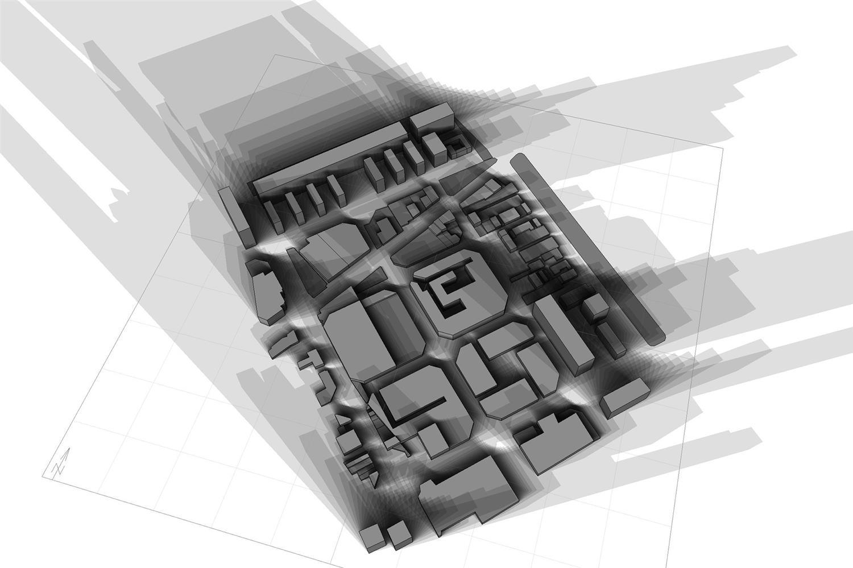 High-rise Shadow Impact Analysis