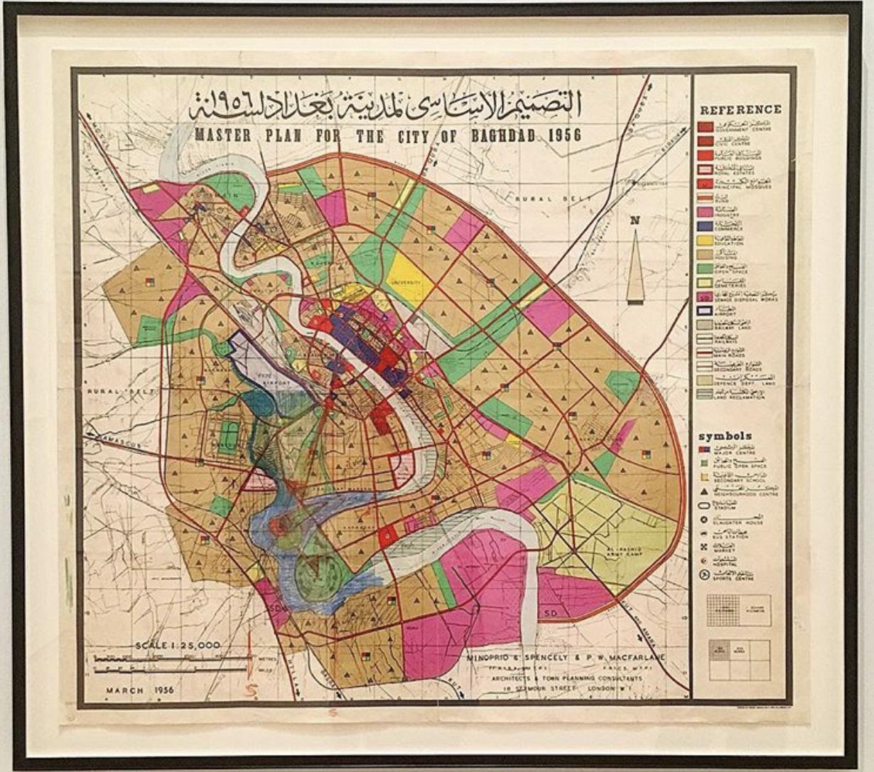 تطور مدينة بغداد خلال الحكم الملكي ١٩٢١-١٩٥٨ ( الجزء الأول)