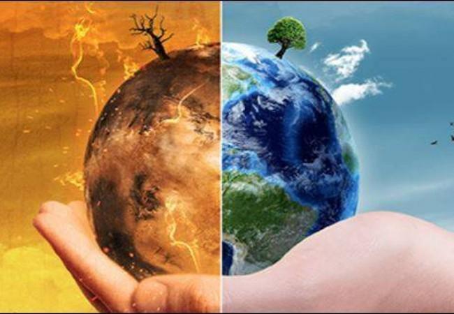 تغير المناخ في العالم وأثره على البيئة الطبيعية
